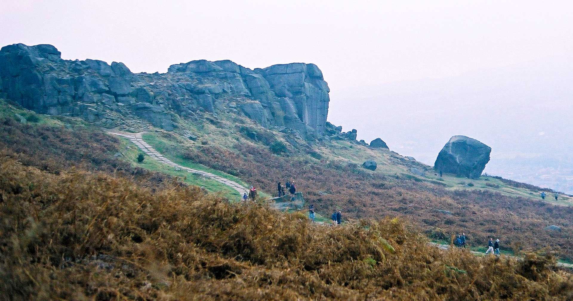 Cow & Calf rocks, Ilkley Moor - photo by Andy Hemingway